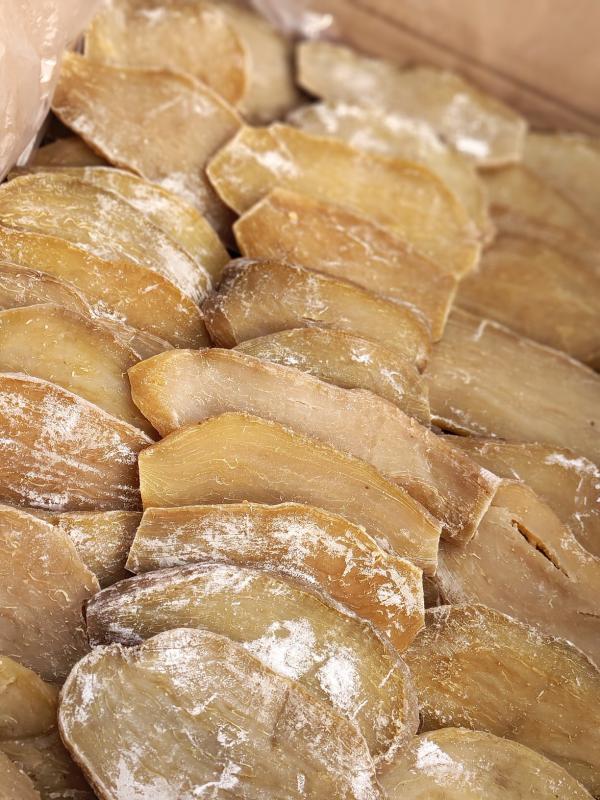 地瓜干白霜紅薯干富硒晾曬薯干